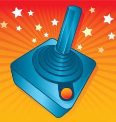 gamers joystick vector image