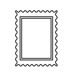 Stamp black color icon vector
