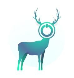 Turn off the deer vector