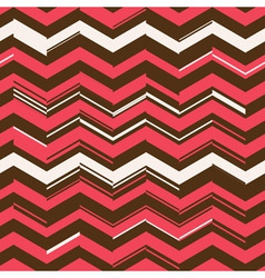 zigzag chaos pattern vector image