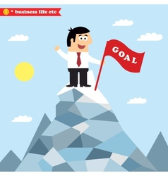 Business goal achievement vector