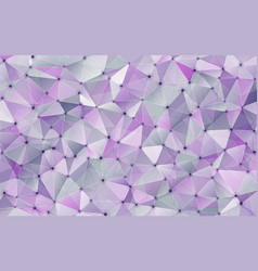 abstract geometric crystal background vector image