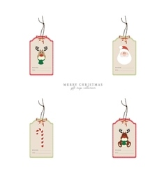 Cute Christmas Objects vector image