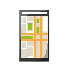 Smartphone app technology vector
