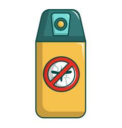 Spray no mosquito icon cartoon style vector