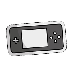 Video game control isolated icon vector