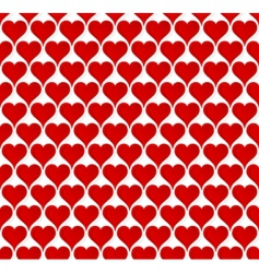 Valentine hearts seamless wallpaper vector