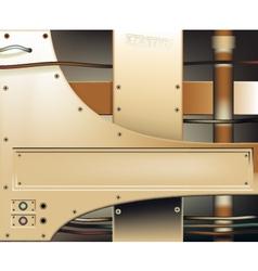 Bronze metalwork vector