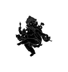 Ganesa-shadow vector