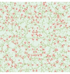 Seamless flower texture vector image