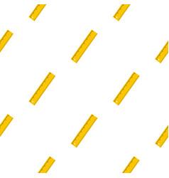 Yellow ruler pattern seamless vector