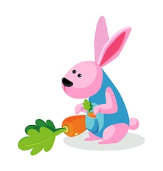 icon rabbit vector image
