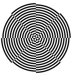 Spinning target vector image