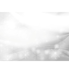 Shiny grey pearl Christmas background vector image vector image