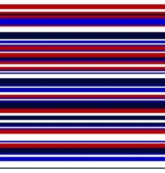 Simple colorful stripes in blue and red vector image vector image