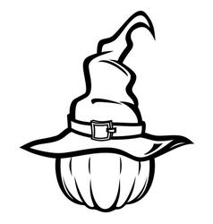 Witch hatbw resize vector