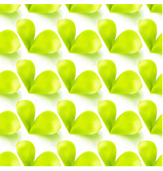 Seamless sprout leaves vector