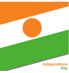 Niger independence day vector
