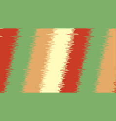 Background with diagonal stripes with glitch vector