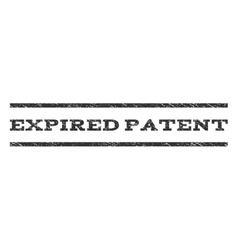 Expired patent watermark stamp vector