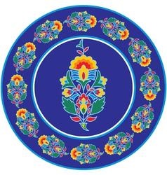 Oriental - Indian - Floral Design Elements vector image vector image