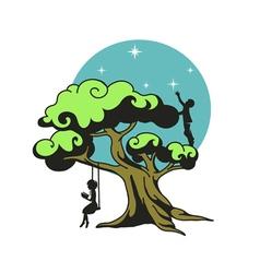 The dream tree vector