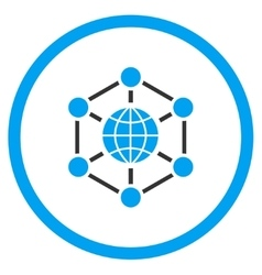 Global Web Icon vector image