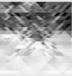 grayscale triangles abstract geometric background vector image