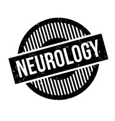 Neurology rubber stamp vector