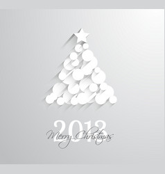 Delicate 2013 christmas background vector