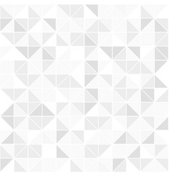 Gray geometric seamless pattern mosaic background vector