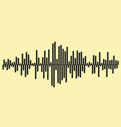 Sound waves music background eps 10 file included vector