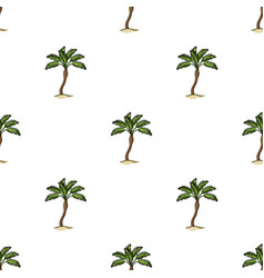 Palm beach treesummer rest single icon in cartoon vector