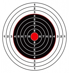 Rifle target vector