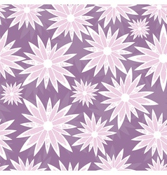 grunge seamless flower background vector image