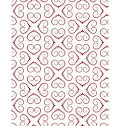 Seamless lace pattern vintage curled texture vector