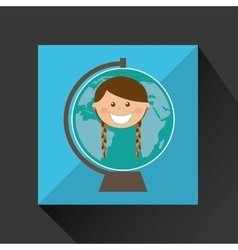 Education school student child people kids vector