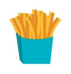 Delicious fast food theme design icon vector