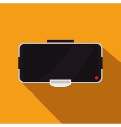Augmented reality glasses technology icon vector image