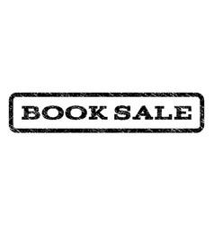 Book sale watermark stamp vector