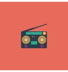 Classic 80s boombox vector image vector image