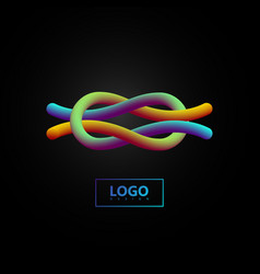 Gradient shape logo vector