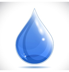 Water drop - vector image
