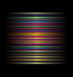 candy rainbow cross vector image