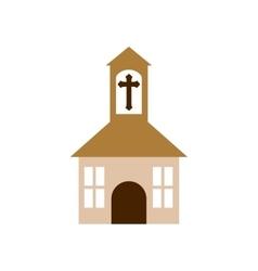 Church religion christianity icon vector