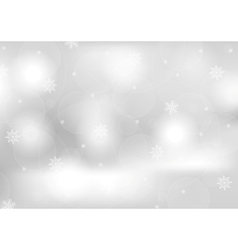 Abstract grey greeting christmas card vector