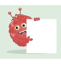 Good red furry monsters 5 vector