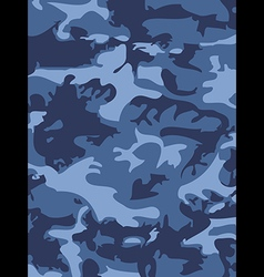 Camouflage pattern background woodland style vector