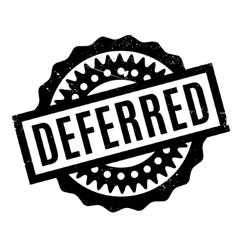 Deferred rubber stamp vector