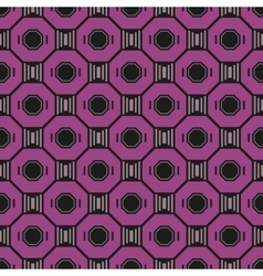 Seamless abstract geometric pattern Decorative vector image vector image